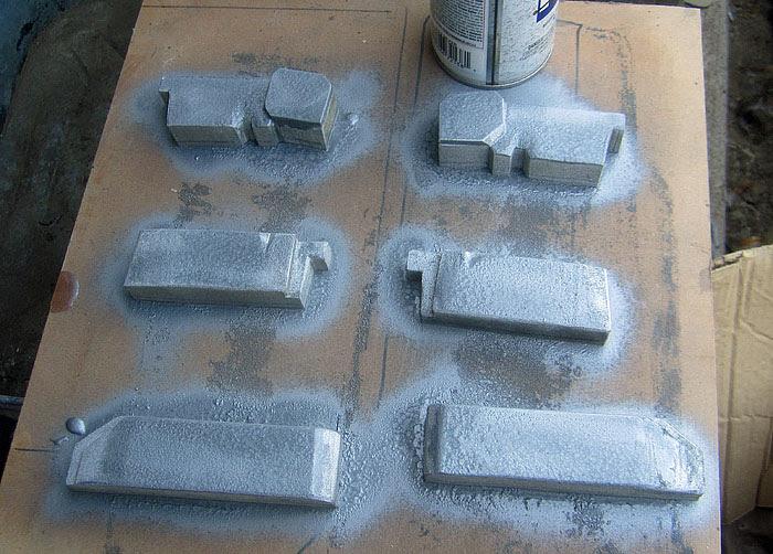 Isaac ribcage bits painted