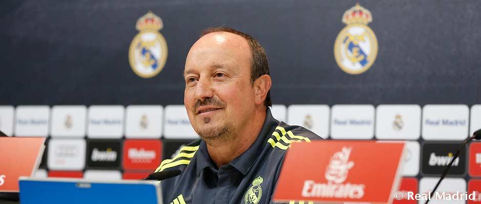 Rueda de prensa de Rafa Benitez