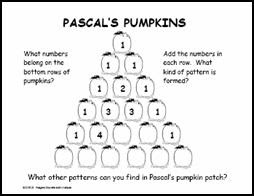 Mathwire: Pascal's Pumpkins