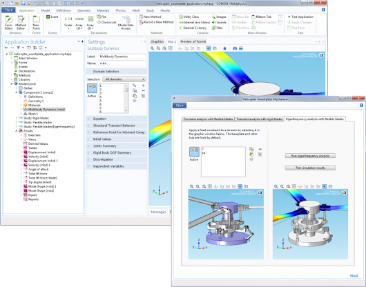 Multiphysics 5.0 and the Application Builder | Circuit Cellar