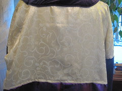 inside back this is the lining so it is inside out
