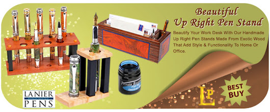 Beautify your Office Space with Handmade Up Right Pen Stands Made from Exotic Wood