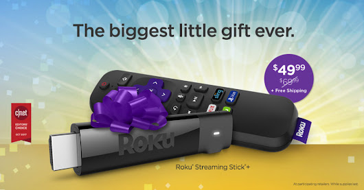 Don't miss these Roku Black Friday deals!