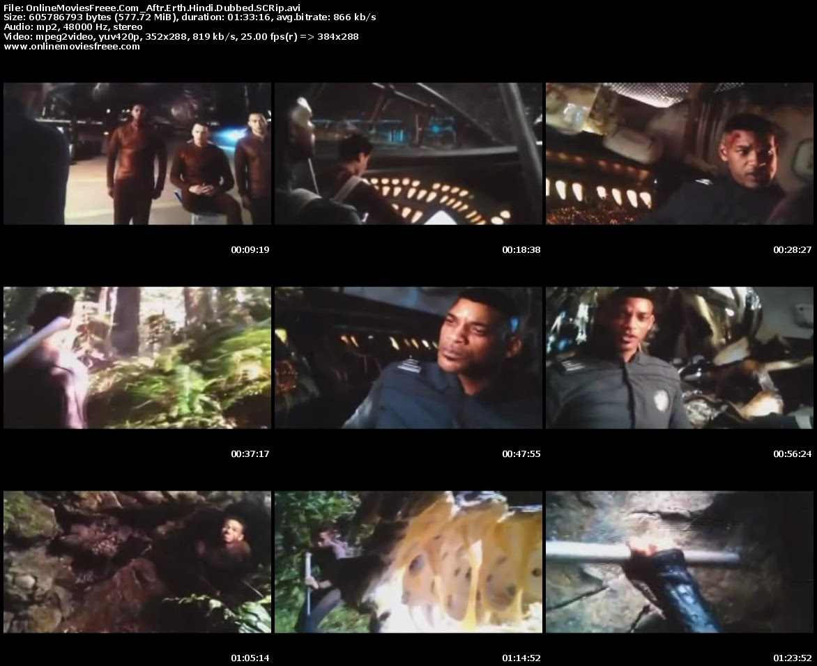 After Earth (2013) Hindi Dubbed SCamRip Exclusive title=
