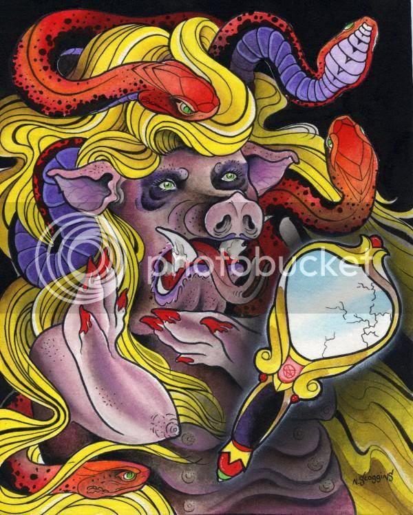 neal scoggins pig painting