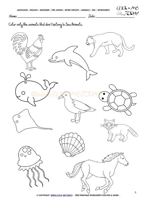 directions coloring worksheets coloring pages