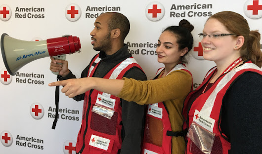 AmpliVox Donates Megaphones To The American Red Cross Indiana Region