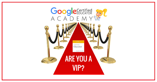 The VIP Google Certified Educator Course is OPEN! | Shake Up Learning
