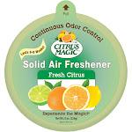 Citrus Magic Solid Air Freshener Fresh Citrus, Pack of 3, 8-Ounces Each, White