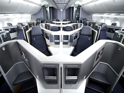 American Airlines Aircraft Types that Offer Business Class