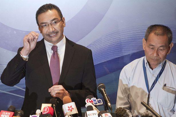 Hishammuddin Hussein and Ahmad Jauhari Yahya