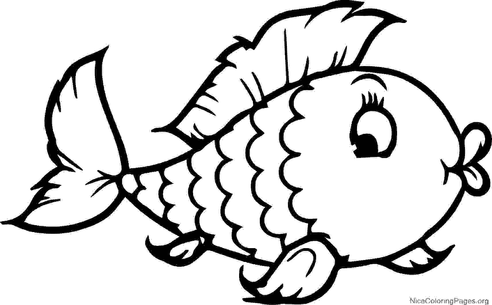 Fish Drawing For Kids   Free download on ClipArtMag