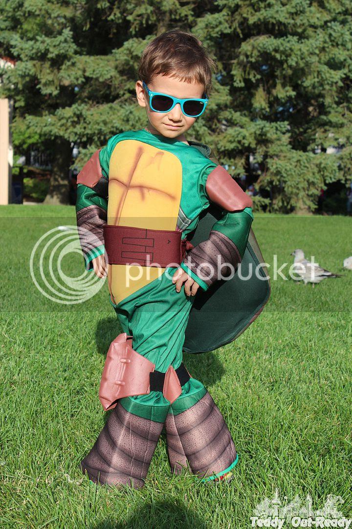 Turtle Ninja Costume