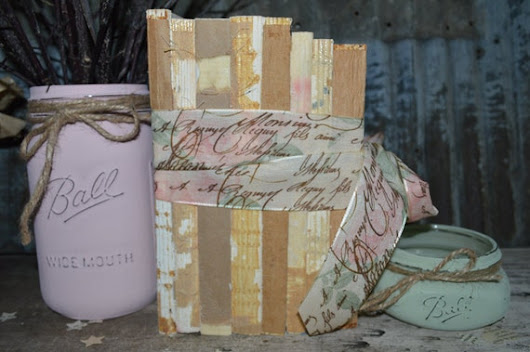 Unbound Raw Book Bundle Wrapped in French Style by JuliBecker