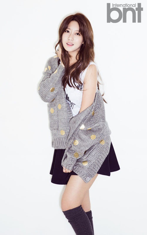 Rainbow Oh Seung Ah - bnt International November 2014
