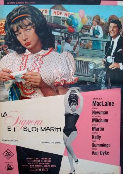 What A Way To Go Italian fotobusta movie poster (1965)