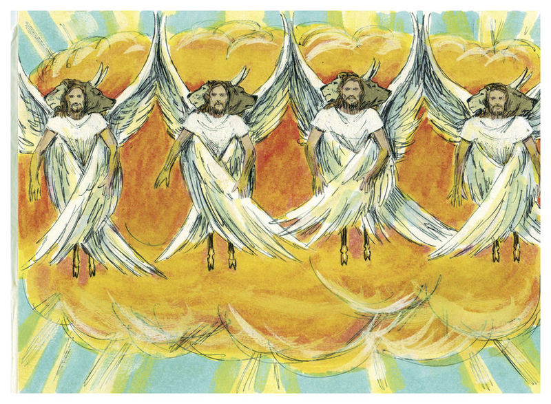 File:Book of Ezekiel Chapter 1-1 (Bible Illustrations by Sweet Media).jpg