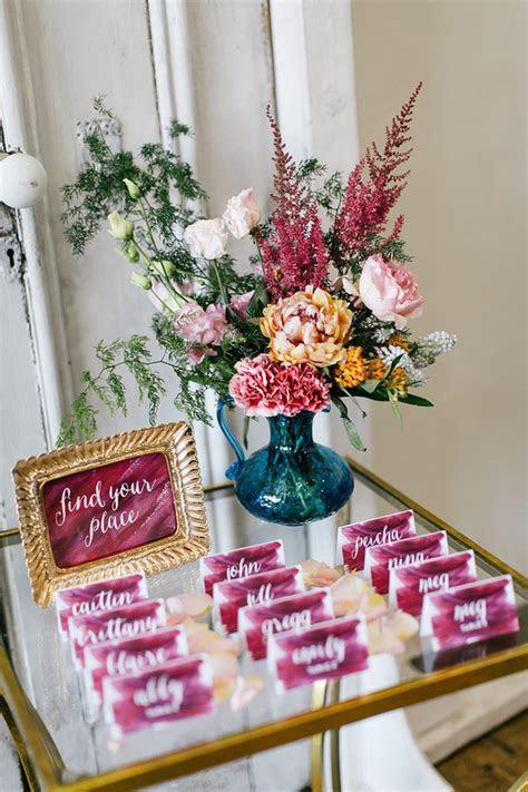 Modern bohemian wedding inspiration   Wedding & Party
