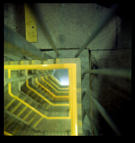 stairwell by pho-Tony