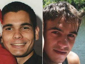 Dionatan e Lucas estão desaparecidos (Foto: Divulgação/Polícia Civil)
