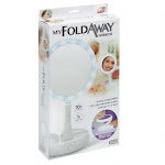 My Fold-away 1713 Double Sided Led Light Distortion-free Mirror, As Seen On Tv