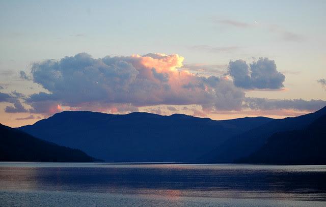 early evening, adams lake 1