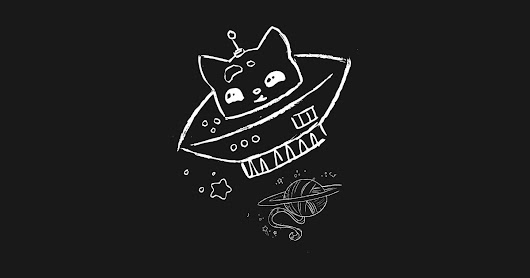 Space Cat by halosenpai