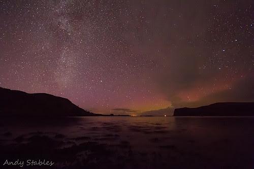 Aurora, Loch Pooltiel, Isle of Skye