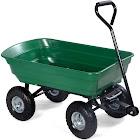 Costway TL30681 650 lbs Garden Dump Cart Dumper Wagon Carrier