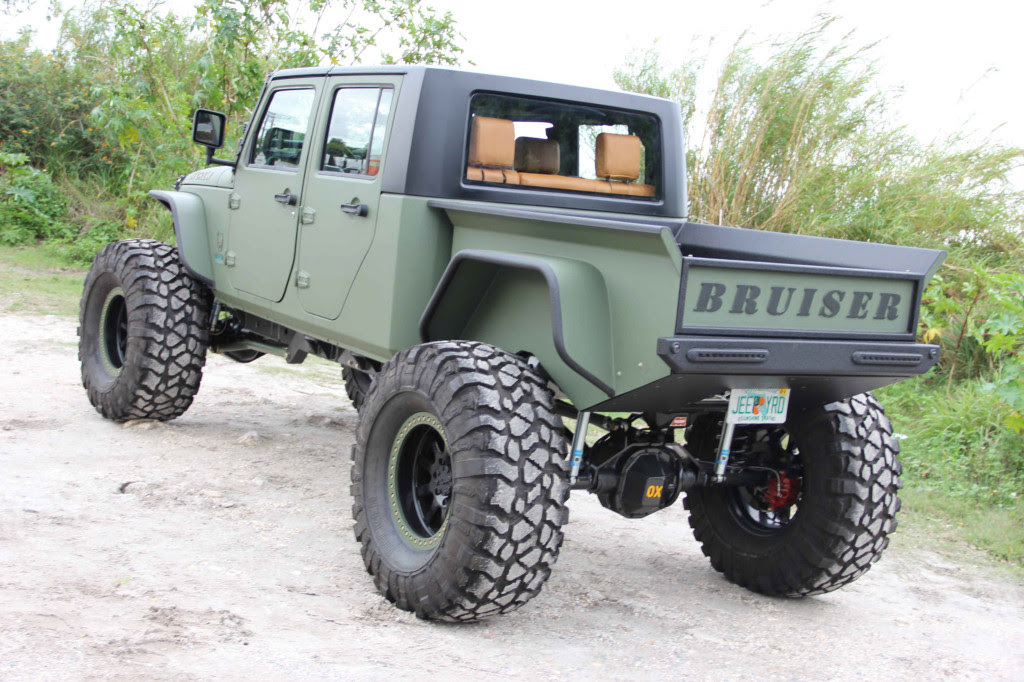 Custom 2007 Jeep Wrangler With A Cummins Turbosel