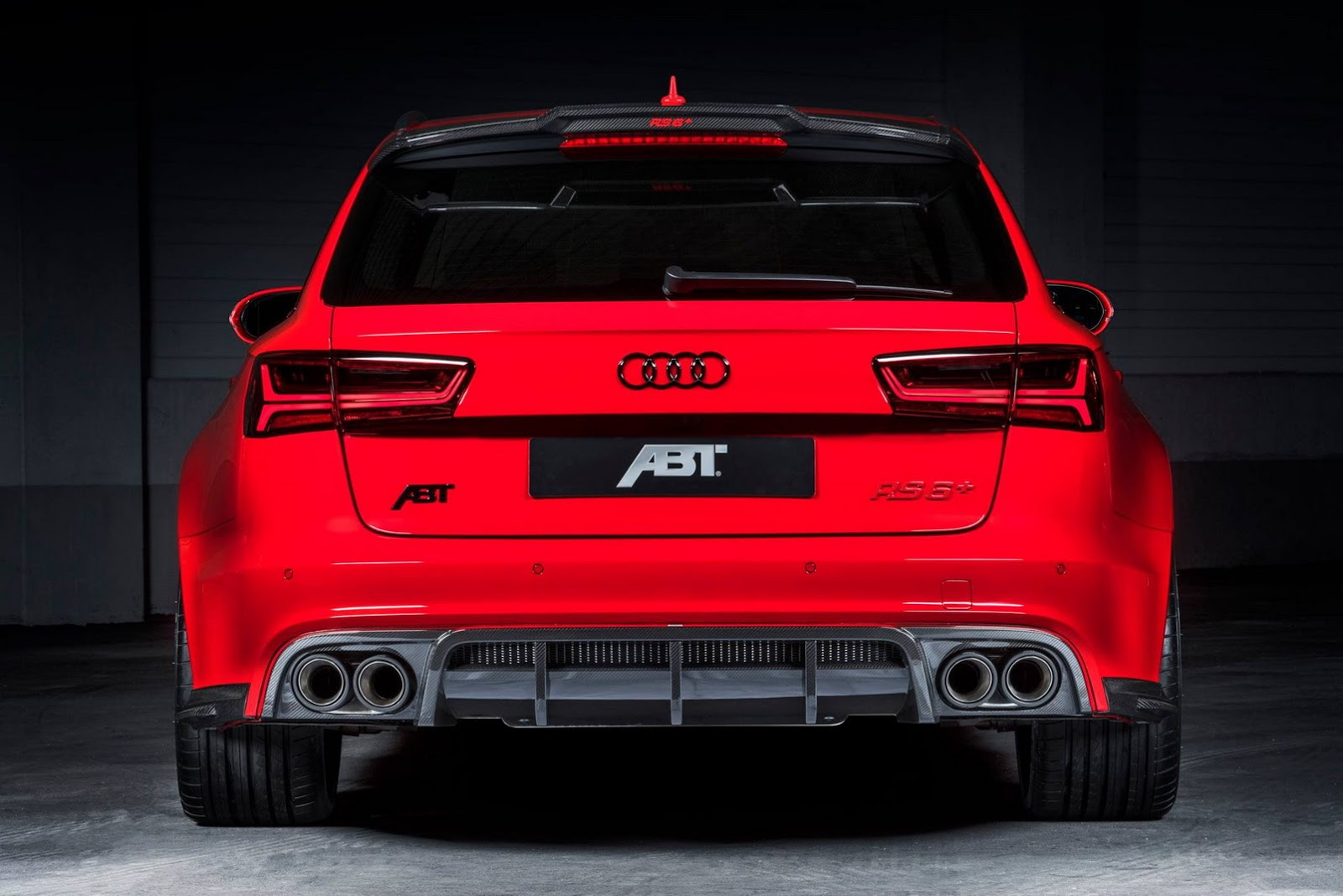 Audi RS  by ABT Sportsline Shines All in Red  Carz Tuning