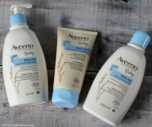 AVEENO Baby Daily Care Range - A Review