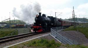 Moderna tåg i Åstorp