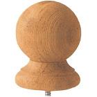 BW Creative Wood Cedar Ball Top Post Cap