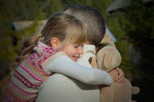 The Father's Hug | Michelle Sparkes