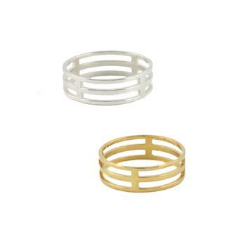 Cage Ring : Rings : Handmade Jewelry by Peggy Li Creations