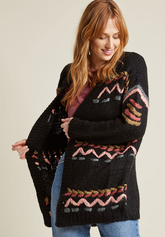 A cardigan to really care for... - Ahomeround