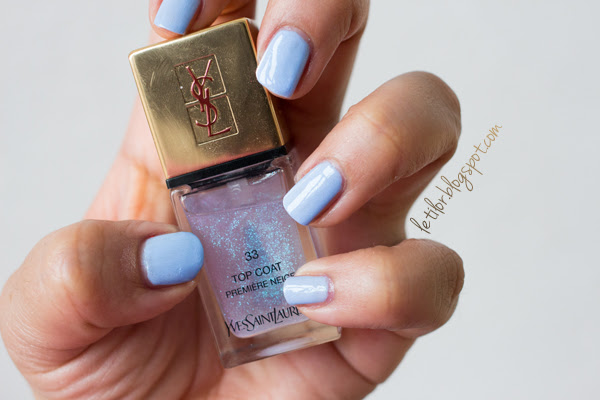 Vernis Yves saint laurent Premiere neige