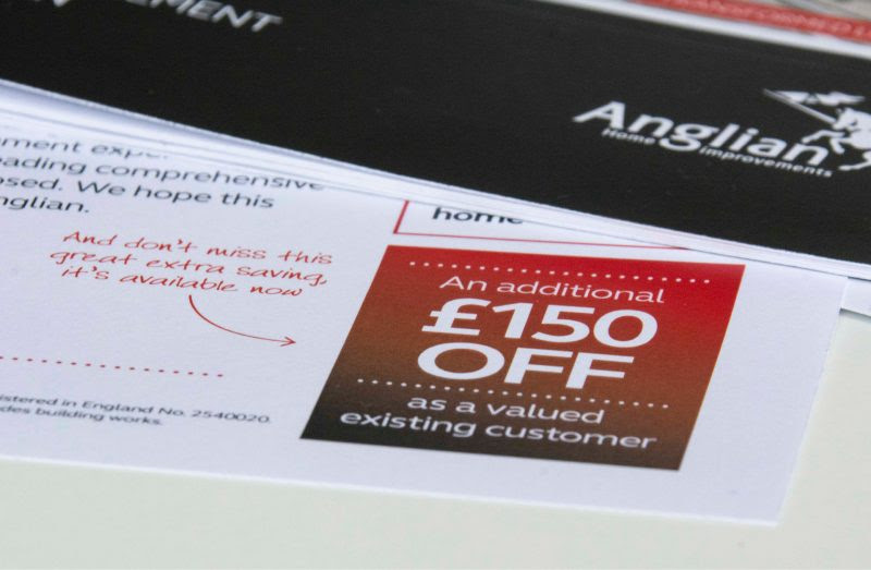 Anglian Home Improvements The Point Direct Mail Campaign