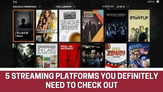 5 Streaming Platforms You Definitely Need to Check Out - Attention Trust