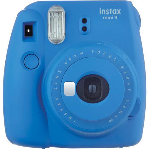 Fujifilm Instax Instant Camera, Mini 9, Cobalt Blue