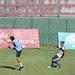 Gabriel Bustos marcando a Martinez