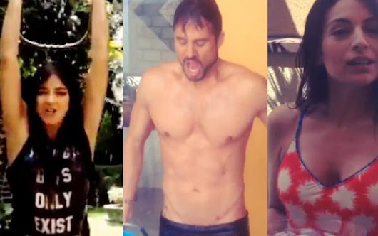 Angelique, Eiza, Maite! Watch Your Favorite Telenovela Stars Take The Ice Bucket Challenge