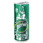 Nestle Waters North America NLE074780447041 Perrier Slim Can Mineral Beverage Multi Color