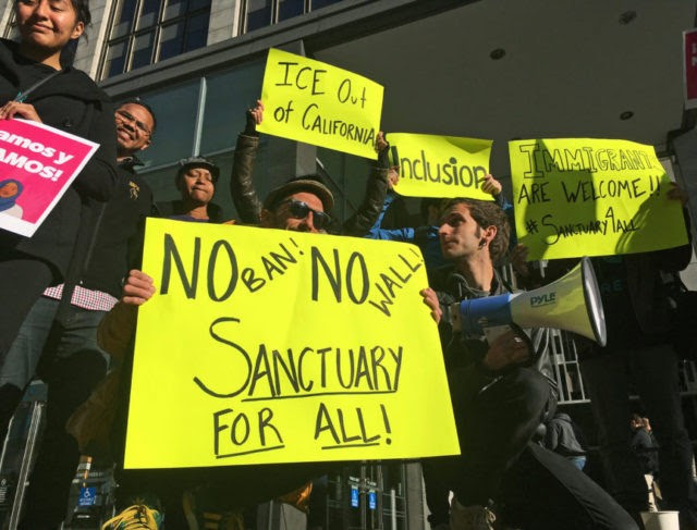 The Latest: San Diego County mulls 'sanctuary' law action