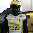 Uniform Watch: Michigan's Outback Bowl