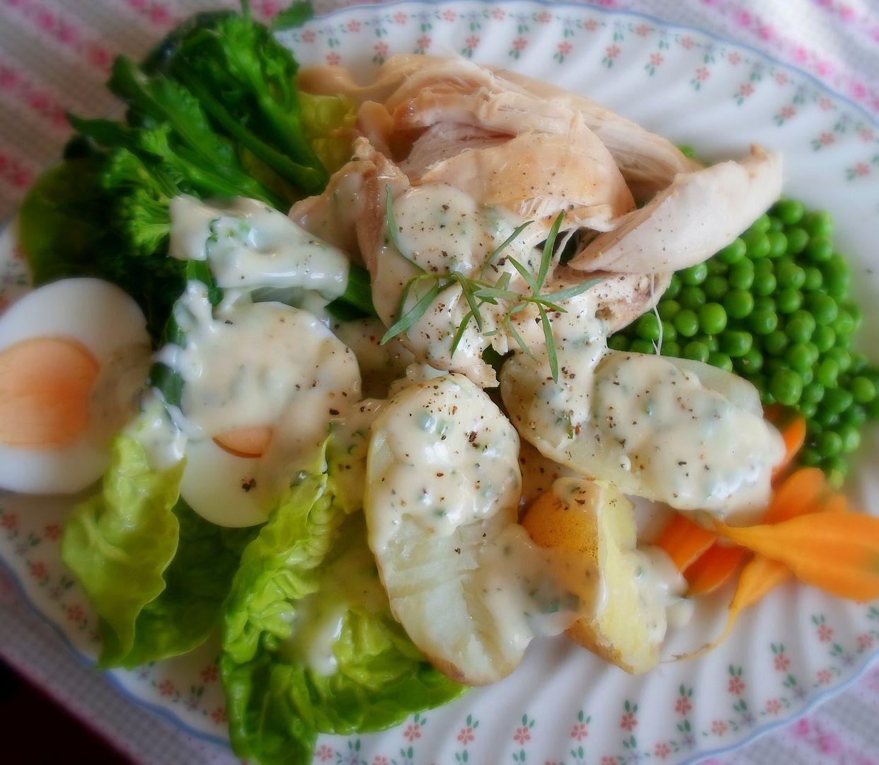 Tarragon, Chervil & Chive Dressed Salad