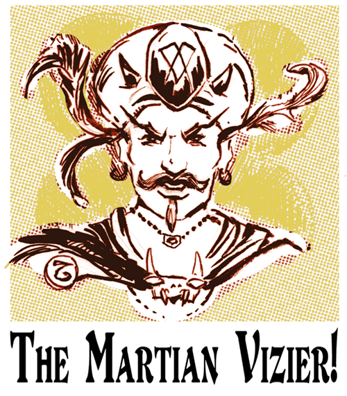 The Vizier's Views: The Tower of Faces|Goodman Games