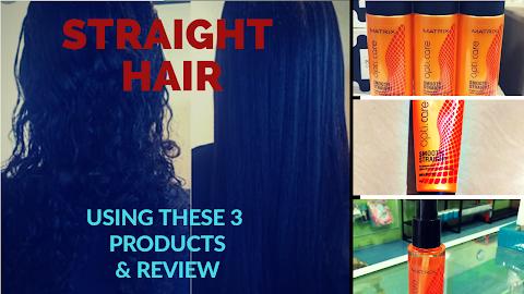 Matrix Opticare Smooth Straight Shampoo, Conditioner and Serum review
