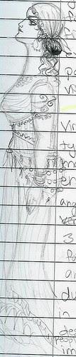 doodle 2004 art history class